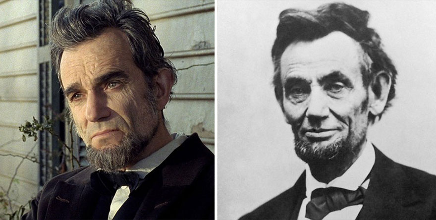 Daniel Day-Lewis como Abraham Lincoln