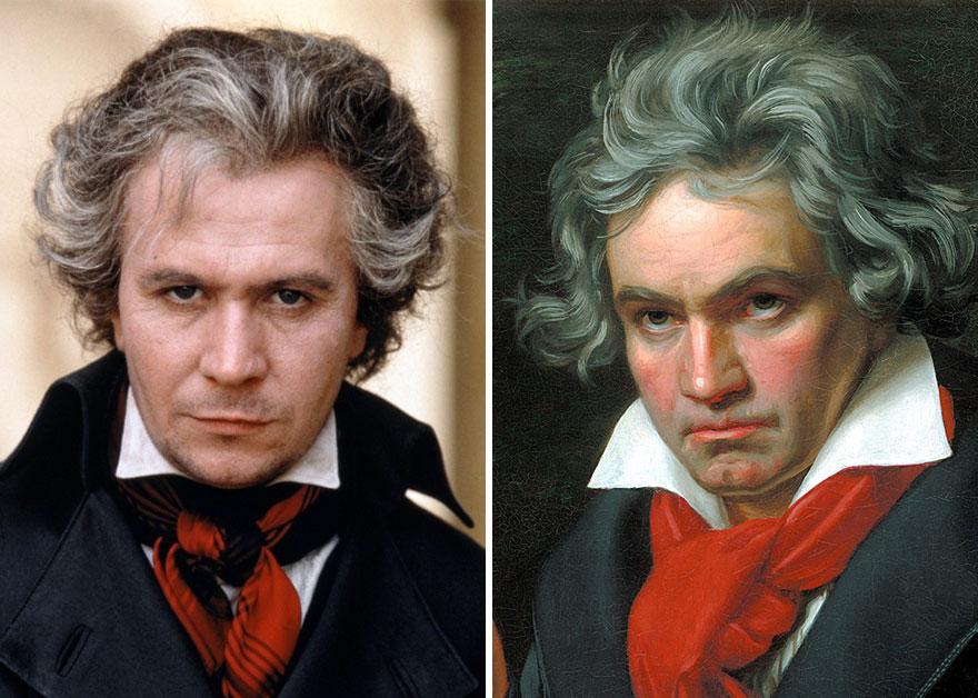 Gary Oldman como Ludwig Van Beethoven