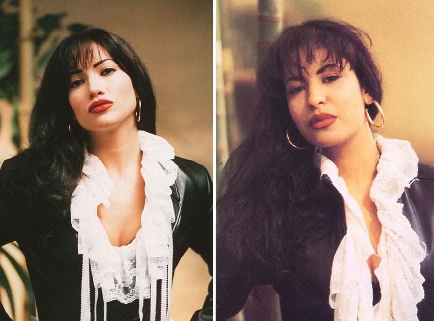 Jennifer Lopez como Selena Quintanilla