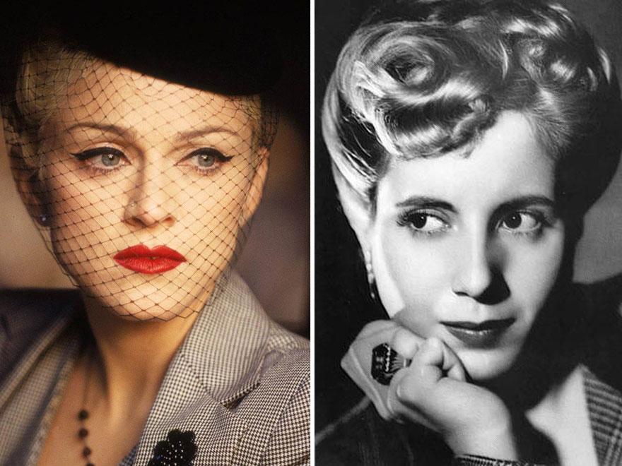 Madonna como Eva Perón
