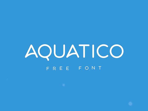 Aquatico-Free-Animated-Font