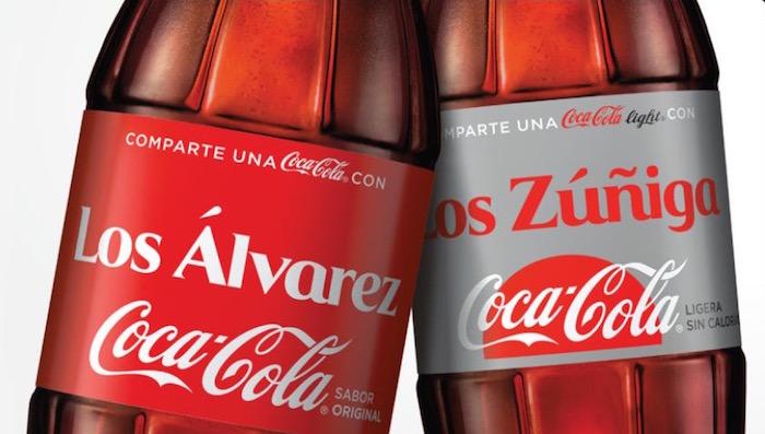 Coca Cola Vuelve Con Sus Diseños Personalizados En Etiquetas