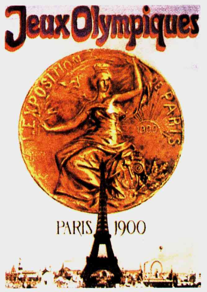 JUEGOS OLIMPICOS 1900 PARIS