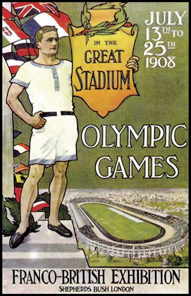 JUEGOS OLIMPICOS 1908 LONDRES