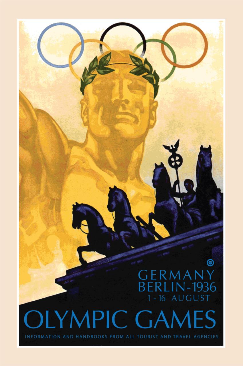 JUEGOS OLIMPICOS 1936 BERLIN
