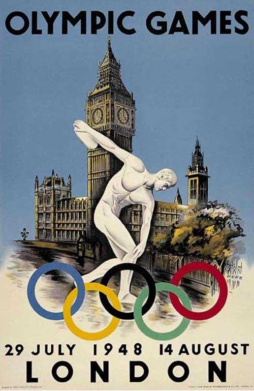 JUEGOS OLIMPICOS 1948 LONDRES