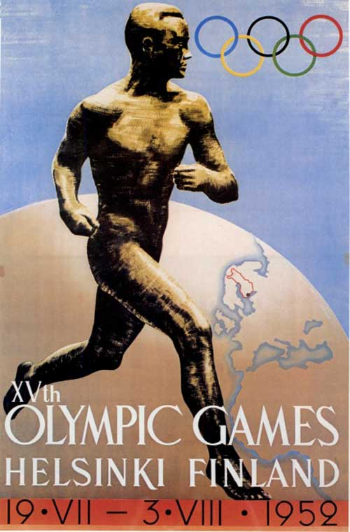 JUEGOS OLIMPICOS 1952 HELSINKI
