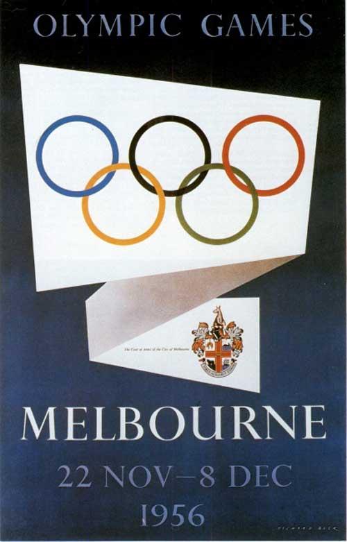 JUEGOS OLIMPICOS 1956 MELBOURNE