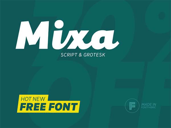 Mixa-free-font