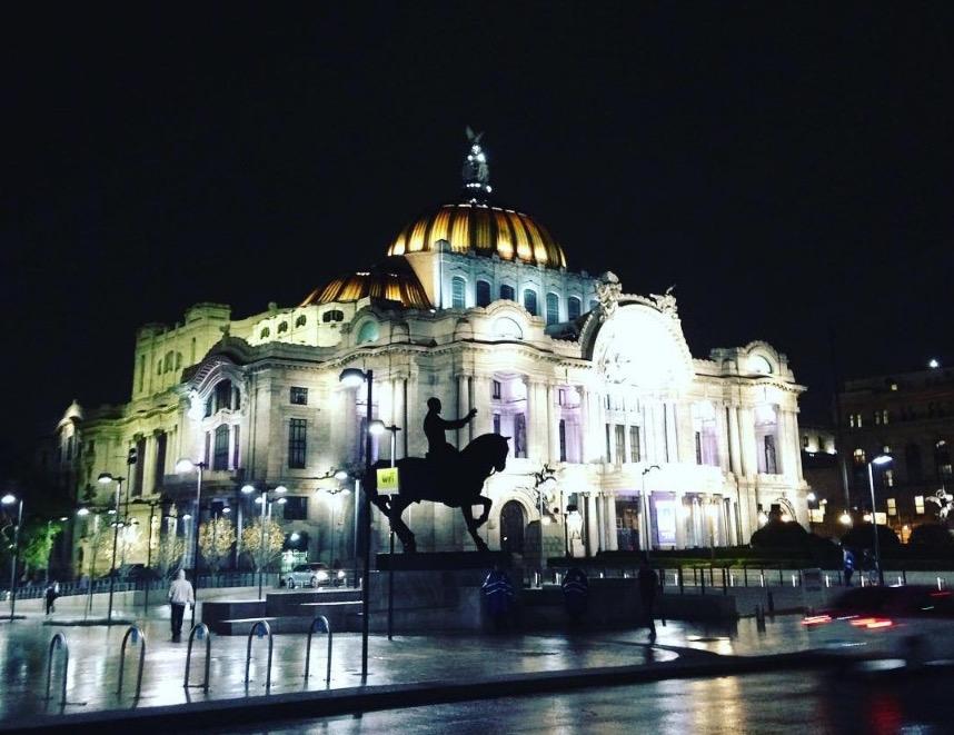 Palacio de Bellas Artes, Centro Histórico