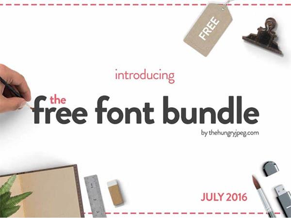 The-Free-Font-Bundle