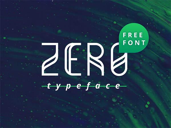 Zero-Free-Typeface