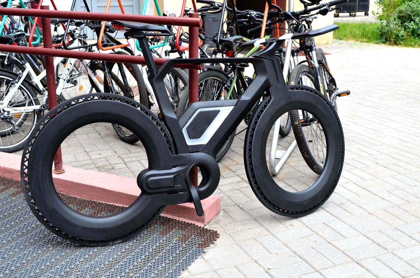 Dise 241 O Industrial Y Bicicletas La Alternativa En El