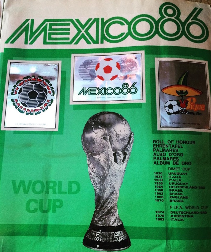 COPA DEL MUNDO MEXICO 86 01