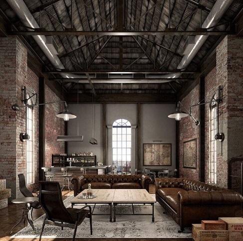 Diseño interior: 6 características del estilo industrial | paredro.com