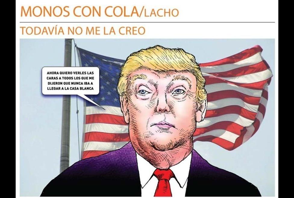 Lacho, Milenio Diario