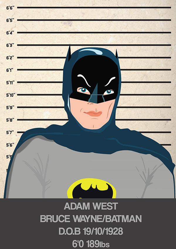 Batman Mug Shot