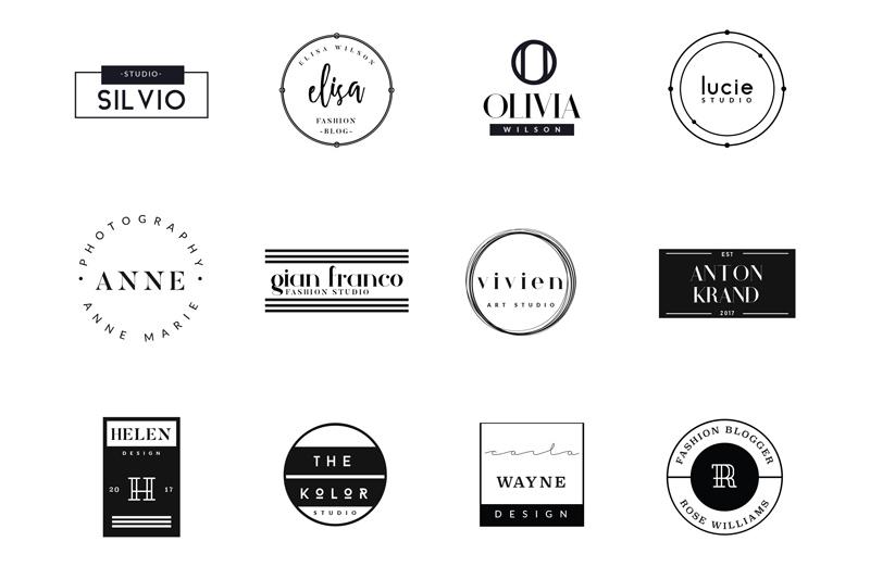 12 vectores de logotipos para editar y usar ya for Logos para editar