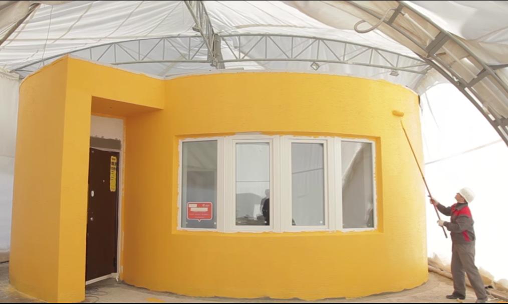 Una vivienda en impresi n 3d en menos de 24 horas Impresion 3d construccion