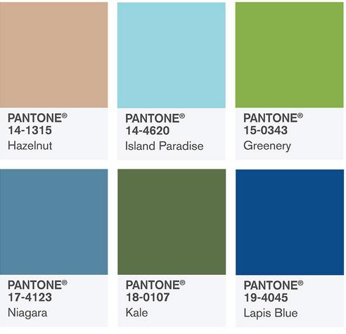 2186155bc56939 Pantone anuncia 10 colores favoritos para primavera | paredro.com