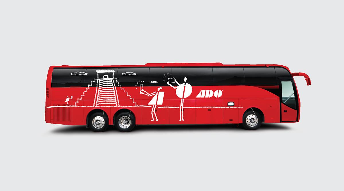 autobús apasionado