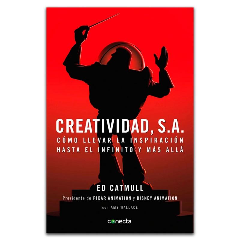 Creatividad, S.A. no es un libro autobiográfico, a través de la historia de Ed Catmull al crear Pixar, puedes aprender mucho sobre emprendimiento.