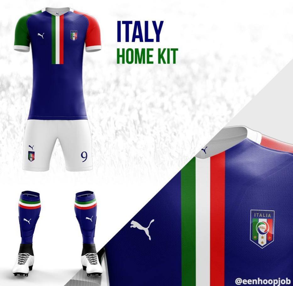 bfbc2d2fbd792 Diseñador reimagina uniformes de selecciones y equipos de futbol ...