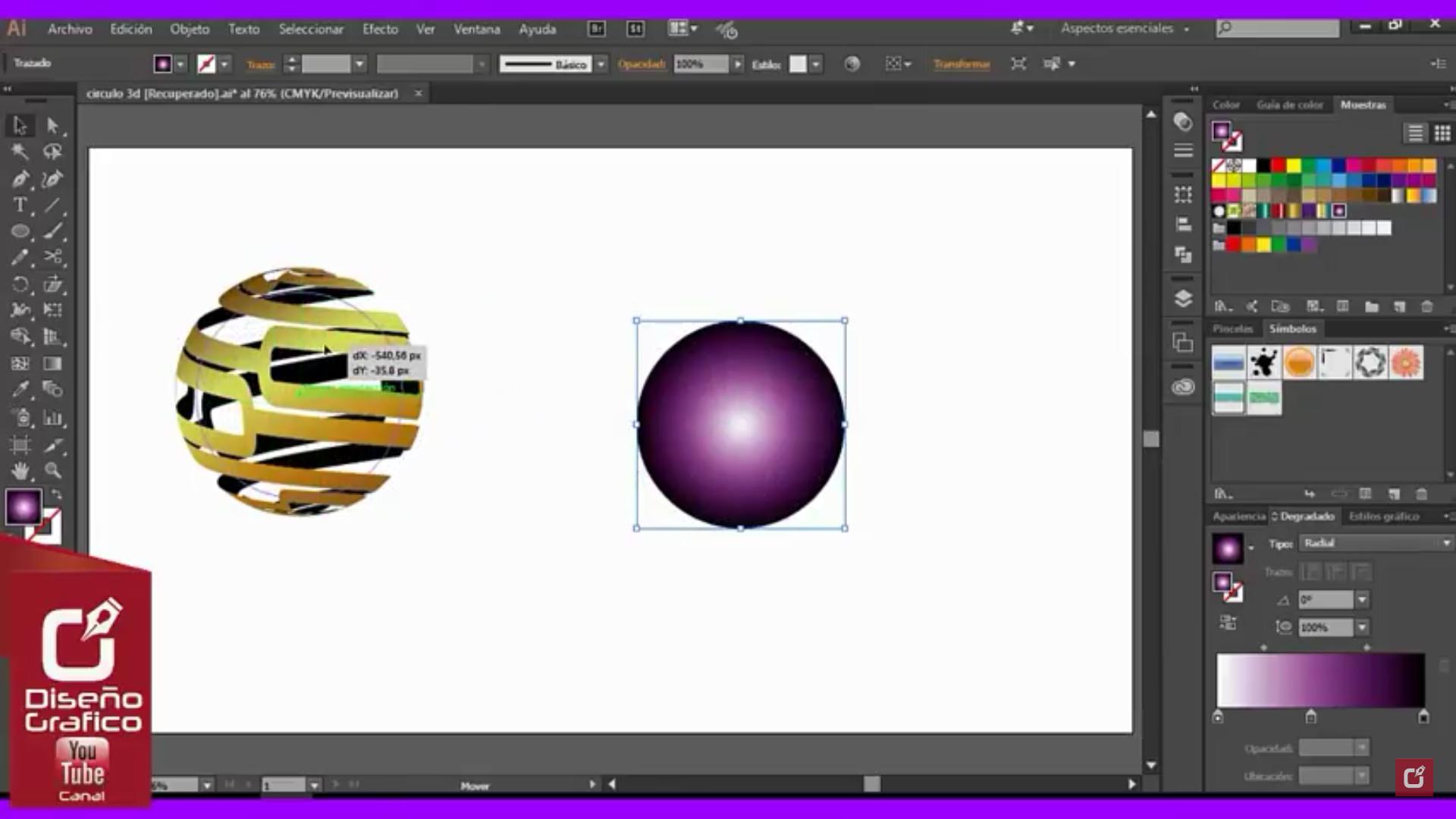 Nuevo Tutorial Para Hacer Un Logo 3d Adobe Illustrator