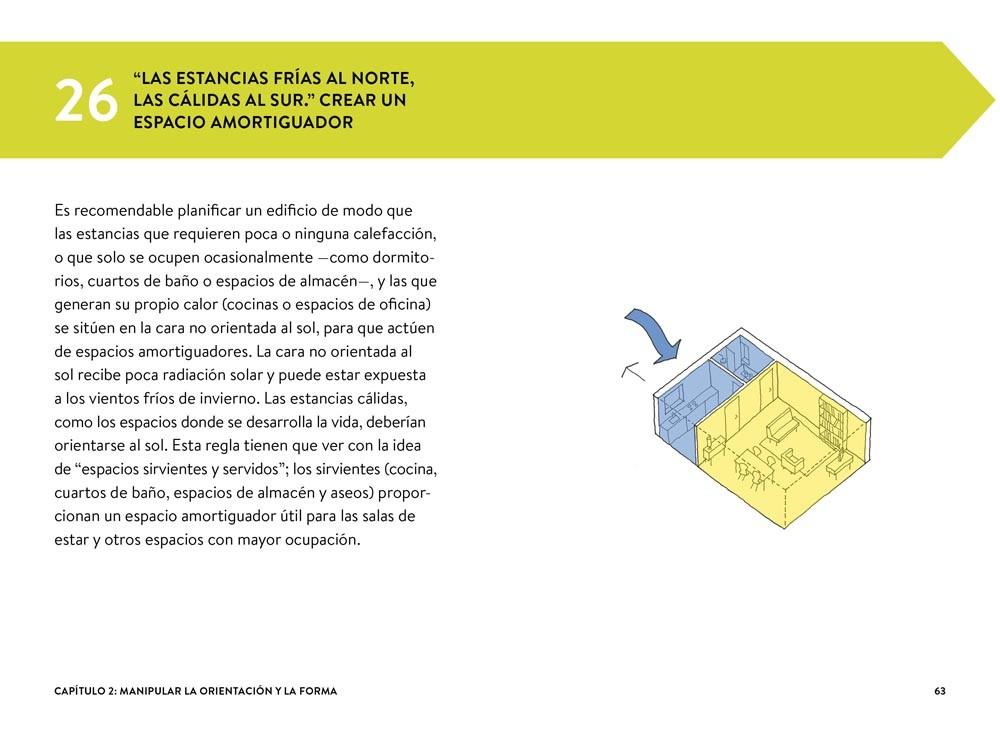 101 Reglas Básicas para una Arquitectura de Bajo Consumo Energético de Huw Heywood es un manual para optimizar los recursos naturales y bajar los costos.