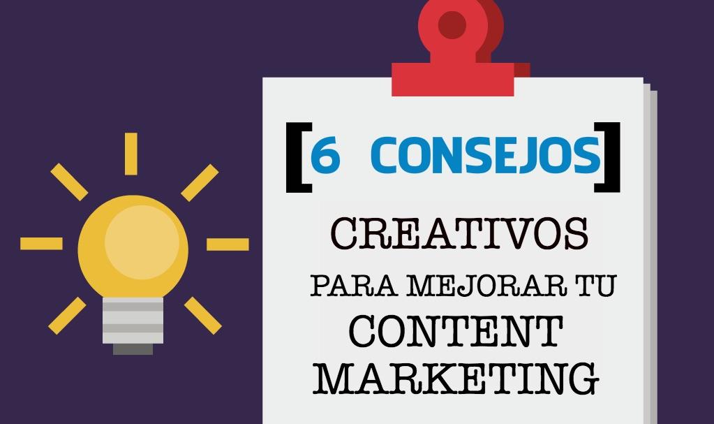 Crear una estrategia de content marketing eficaz requiere de creatividad para desarrollar un contenido interesante y que le guste al púbico.