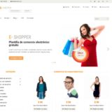 En la actualidad diseñar sitios web de e-commerce puede ser más sencillo si utilizas templates predeterminados y puedes modificar muchas opciones.