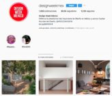 Sigue estas cuentas de Instagram dedicadas al Diseño para entérarte de novedades, tendencias, publicar tus proyectos o observar que hacen los demás.