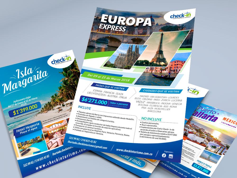 Repartir folletos promocionales es una manera de atraer clientes, pero para lograrlo debes entender la importancia del diseño gráfico en un flyer turístico.