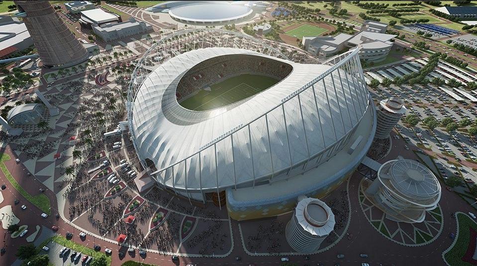 El mundial de Qatar 2022 depara muchas sorpresas arquitectónicas, como el Khalifa Stadium que tendrá aire acondicionado en un país desértico.