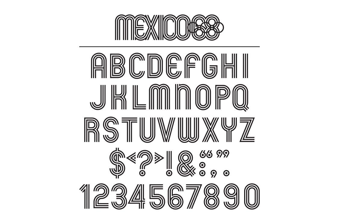 Este domingo entregarán la 6ta medalla del maratón de la CDMX, lo que completa el nombre del país con la tipografía de México 68.