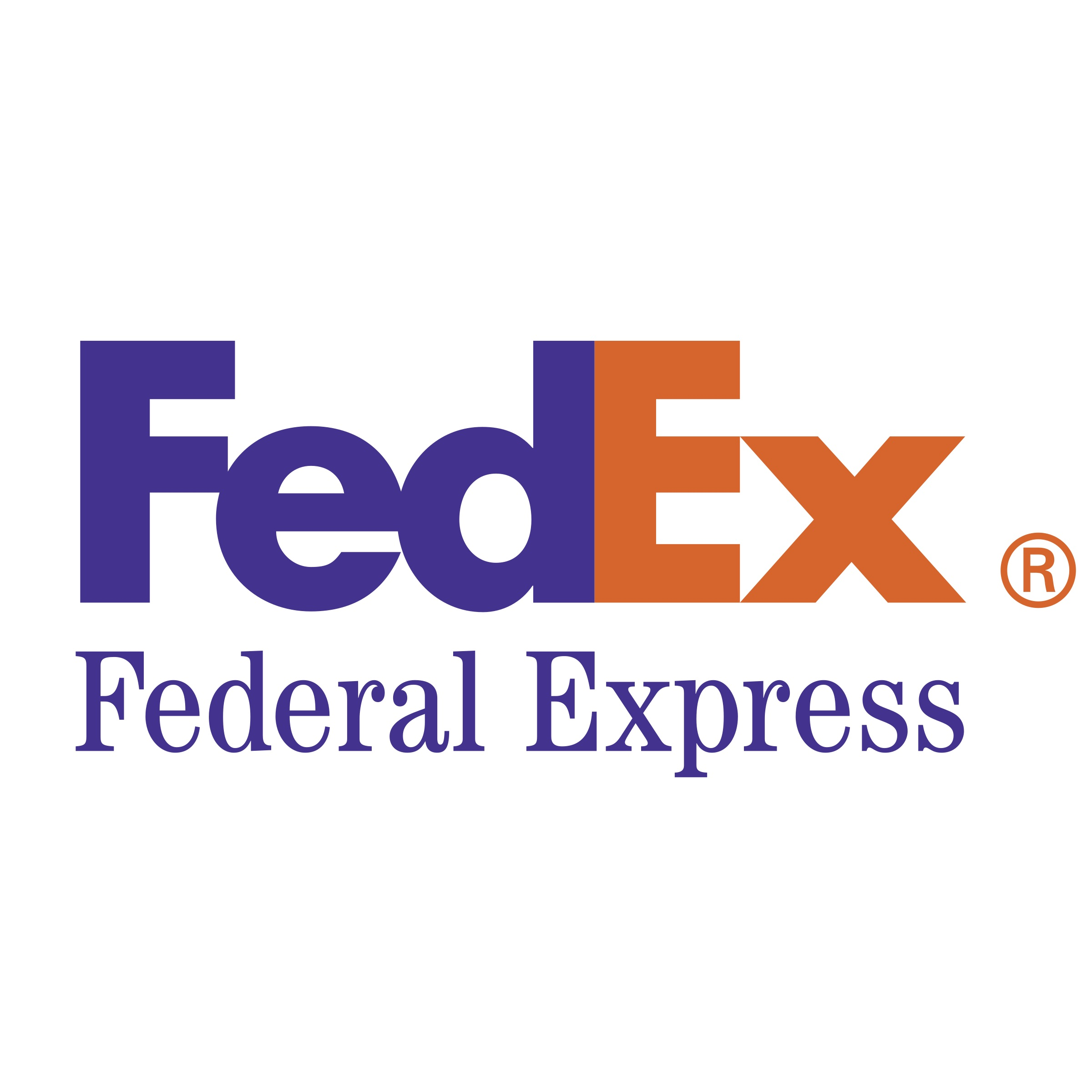 A simple vista el logo de Federal Express pareciera ser solamente al acrónimo de sus palabras FedEx, pero oculta una forma entre dos de sus letras.