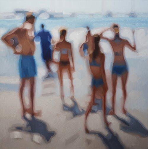 """Las imágenes que ves son en realidad pinturas hiperrealistas de Philip Barlow un artista sudafricano que hace paisajes """"desenfocados""""."""