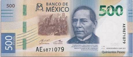 El lanzamiento oficial del nuevo billete de 500 pesos será mañana por Banxico, pero ya hay rumores que Benito Juárez reemplazará a Diego Rivera.