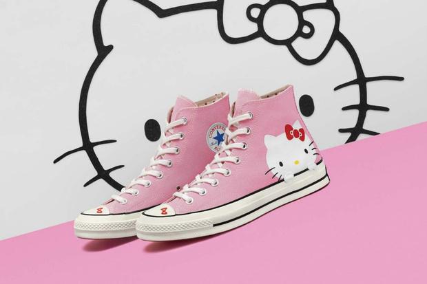 Converse y Hello Kitty lanzarán una colaboración genial que tendrá tenis, accesorios y ropa. Estará disponible el 16 de agosto.