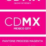 ¿Por qué el logotipo de la CDMX es de ese color? El rosa mexicano representa muchos aspectos de la cultura de la Ciudad de México.