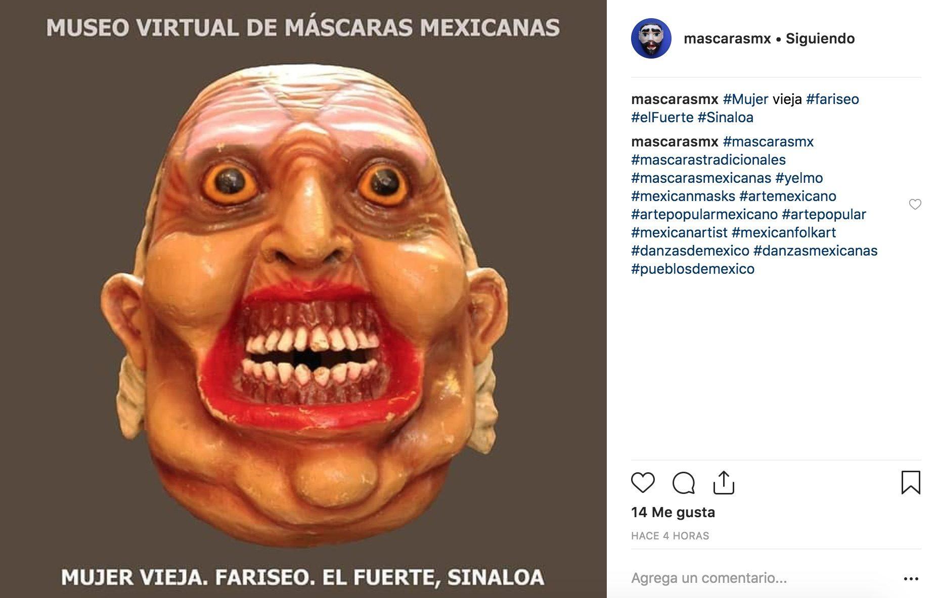 Las máscaras tradicionales mexicanas son un recurso innovador para disfrazarte este día de muertos con el que serás el más original.
