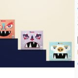 El empaque Chocolate Kinder no ha cambiado durante año, por eso la diseñadora Veronika Végh propuso un nuevo con monstruos.