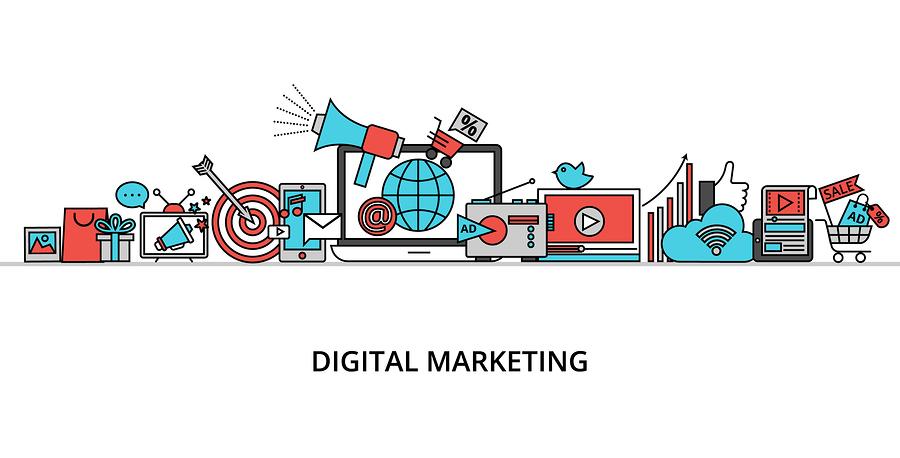Si el logotipo y el marketing digital son plasmados en un mismo diseño, este permitirá captar la atención, así como su inserción en la mente.
