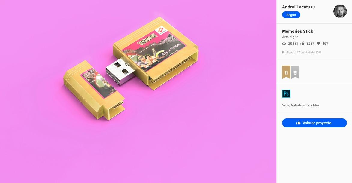 USB Vintage, diseños para geeks y fans de los videojuegos