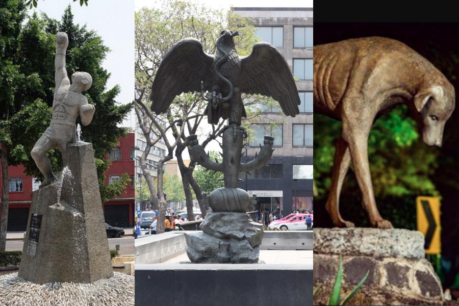 ¿Conoces alguna de estas estatuas poco conocidas en la CDMX? A veces cruzamos la calle, sin darnos cuenta que pasamos por un recordatorio de nuestra memoria