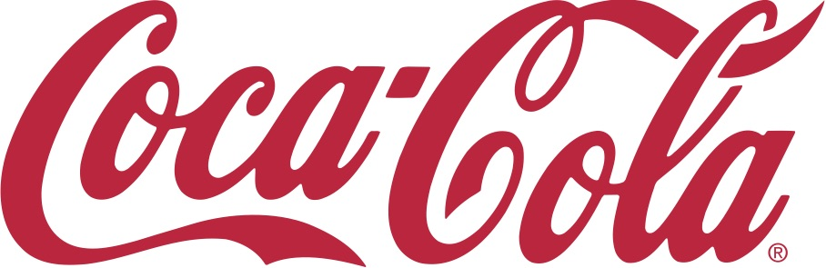 El logo de Coca Cola tiene una tipografía muy emblemática que desde su diseño en la década de los 40s, no se ha modificado.