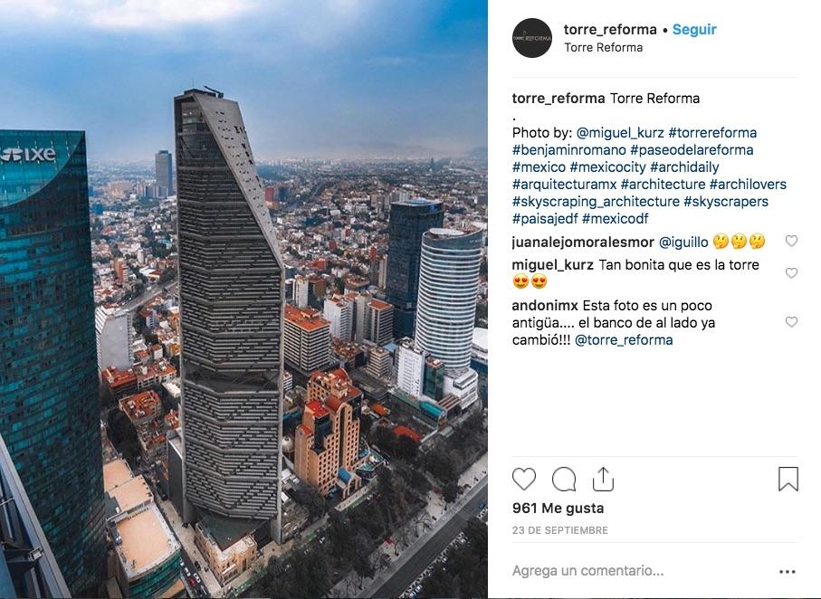 La Torre Reforma y su arquitecto, L. Benjamín Romano, fueron reconocidos con el International Highrise Award 2018 por ser el mejor rascacielos del mundo.