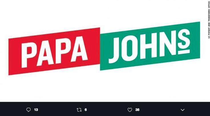 Un nuevo logo de Papa Johns sustituirá al pasado como una estrategia para limpiar la imagen de la cadena de pizzas estadounidenses.