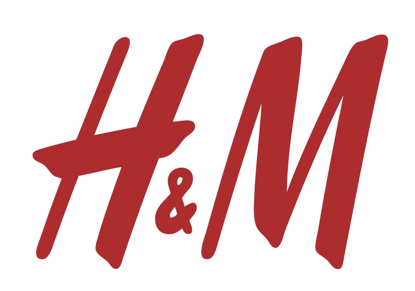 El logotipo de H&M a menudo es criticado por ser demasiado simple, pero es tan efectivo que no tiene la necesidad de rediseñarlo.