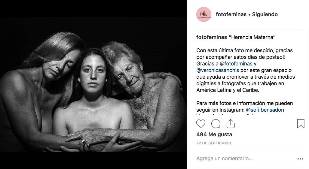 Foto Féminas recopila el trabajo de fotógrafas latinoamericanas en una sola plataforma digital que exhibe mes con mes a una artista diferente.